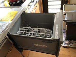 食洗機,買い換え,交換,取り替え,リフォーム,ビルトイン,食洗機交換工事,取り付け,シルバー,パナソニック,NP-45RS7SJGK,リクシル