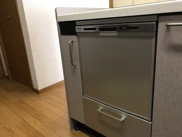 食洗機,トップオープン,取り付け,上開き,買い換え,交換,取り替え,リフォーム,ビルトイン,食洗機交換工事,取り付け,パナソニック,NP-45MS8S