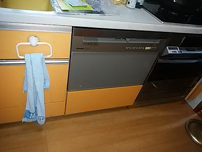 食洗機,買い換え,交換,取り替え,リフォーム,ビルトイン,食洗機交換工事,取り付け,シルバー,パナソニック,NP-P60V1PSPS