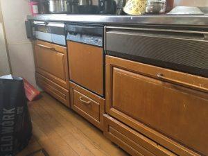 食洗機,買い換え,交換,取り替え,リフォーム,ビルトイン,食洗機交換工事,取り付け,シルバー,パナソニック