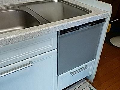 食洗機,買い換え,交換,取り替え,リフォーム,ビルトイン,食洗機交換工事,取り付け,シルバー,パナソニック,NP-45MS8S