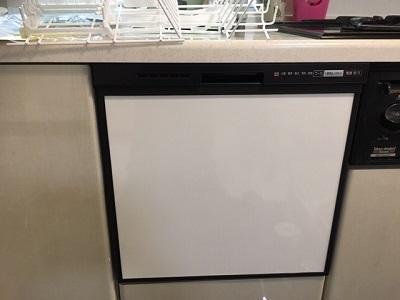 食洗機,買い換え,交換,取り替え,リフォーム,ビルトイン,食洗機交換工事,取り付け,ブラック,パナソニック,NP-45RS7KJGK