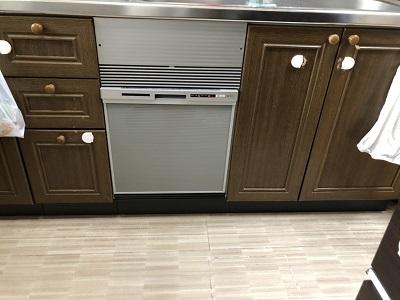 新規設置,後付け,システムキッチン,リフォーム,取り付け,あとからビルトイン,新規取り付け,NP-45RS7SJGK,浅型,パナソニック,ビルトイン食洗機,食洗器,食器洗い機,食器洗い乾燥機,ビルトイン