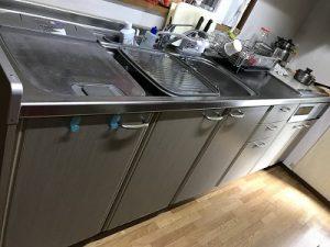 食洗機,トップオープン,取り付け,上開き,買い換え,交換,取り替え,リフォーム,ビルトイン,食洗機交換工事,取り付け,パナソニック製,パナソニック,NP-45RS7SJGK