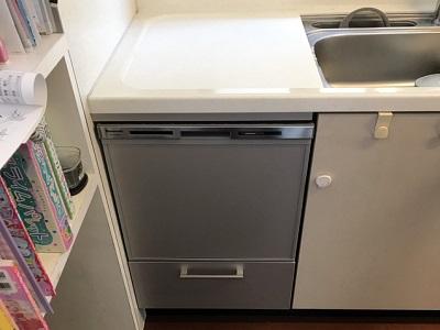 食洗機,トップオープン,取り付け,上開き,買い換え,交換,取り替え,リフォーム,ビルトイン,食洗機交換工事,取り付け,パナソニック製,パナソニック,NP-45MS8S,ヤマハ,EW-CB70-YH
