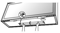 東芝 電動昇降吊り戸棚 ランプ交換方法②
