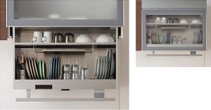 TOTO 電動昇降式ミドルウォール 食器乾燥庫タイプ 900