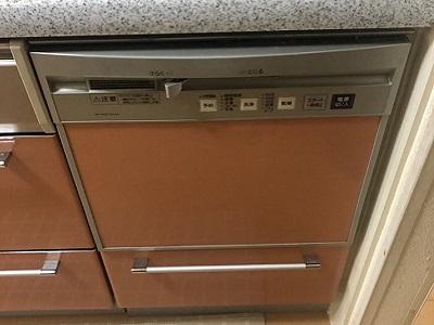 食洗機,買い換え,交換,取り替え,リフォーム,ビルトイン,食洗機交換工事,取り付け,シルバー,パナソニック製,パナソニック,NP-45MS8S,NP-P45F1S1AA