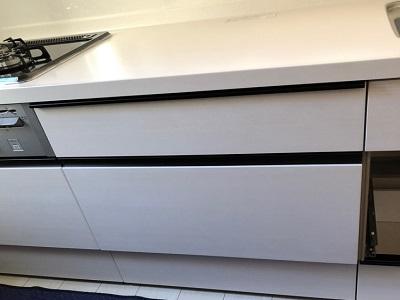 新規設置,後付け,システムキッチン,リフォーム,取り付け,あとからビルトイン,新規取り付け,NP-45ME8WJG,深型,パナソニック製,ビルトイン食洗機,食洗器,食器洗い機,食器洗い乾燥機,ビルトイン,リクシル,LIXIL