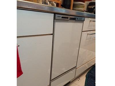 食洗機,買い換え,交換,取り替え,リフォーム,ビルトイン,食洗機交換工事,取り付け,シルバー,パナソニック,パナソニック製,NP-45MD8S,NP-P45VD2STM