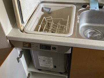 食洗機,トップオープン,取り付け,上開き,買い換え,交換,取り替え,リフォーム,ビルトイン,食洗機交換工事,取り付け,NP-45RS7S,パナソニック製,ヤマハキッチン