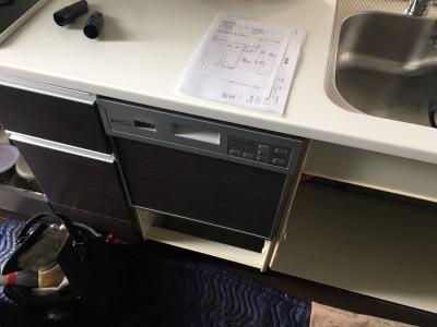 食洗機,買い換え,交換,取り替え,リフォーム,ビルトイン,食洗機交換工事,取り付け,シルバー,パナソニック,パナソニック製,EW-BP45S,NP-45MS8S,タカラスタンダード