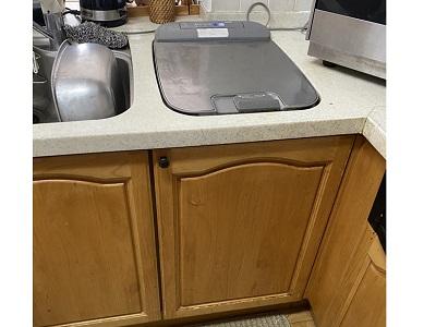 食洗機,トップオープン,取り付け,上開き,買い換え,交換,取り替え,リフォーム,ビルトイン,食洗機交換工事,取り付け,パナソニック製,パナソニック,EW-CB55P,三菱製,三菱,ハウステック