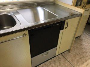 食洗機,トップオープン,取り付け,上開き,買い換え,交換,取り替え,リフォーム,ビルトイン,食洗機交換工事,取り付け,パナソニック,パナソニック製,NP-45RS7KJGK,トステム,DW-D45CT2,東芝
