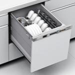 三菱電機製(三菱電機)EW-45H1SM 幅45cm 浅型 ドア面材型 ○食洗機