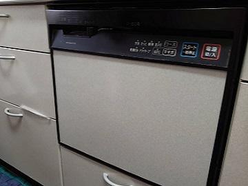 食洗機,買い換え,交換,取り替え,リフォーム,ビルトイン,食洗機交換工事,取り付け,シルバー,パナソニック,NP-45MS8S,取替工事