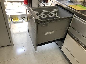 食洗機,買い換え,交換,取り替え,リフォーム,ビルトイン,食洗機交換工事,取り付け,シルバー,パナソニック製,NP-45MD8S,深型食洗機,ディープ食洗機