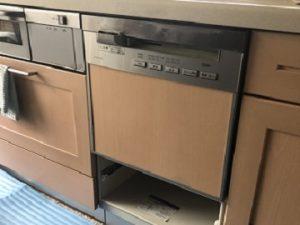 食洗機,買い換え,交換,取り替え,リフォーム,ビルトイン,食洗機交換工事,取り付け,シルバー,NP-45MS8S,パナソニック,岡山県