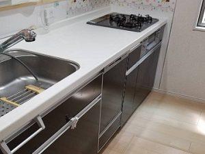 新規設置,後付け,システムキッチン,リフォーム,取り付け,あとからビルトイン,新規取り付け,NP-45MD8S,浅型,パナソニック,ビルトイン食洗機,食洗器,食器洗い機,食器洗い乾燥機,ビルトイン,ファーストプラスキッチン