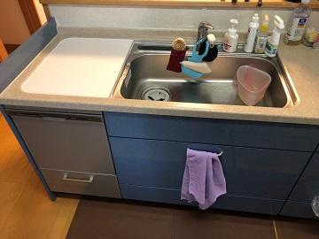 食洗機,トップオープン,取り付け,上開き,買い換え,交換,取り替え,リフォーム,ビルトイン,食洗機交換工事,取り付け,panasonic,パナソニック,NP-45MS8S