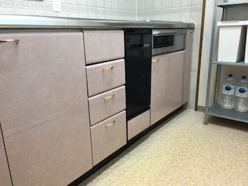 食洗機,買い換え,交換,取り替え,リフォーム,ビルトイン,食洗機交換工事,取り付け,シルバー,パナソニック,NP-45MD8S