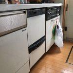 2段式スライド食洗機お取替え 食洗機,買い換え,交換,取り替え,リフォーム,ビルトイン,食洗機交換工事,取り付け,シルバー,