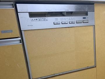食洗機,買い換え,交換,取り替え,リフォーム,ビルトイン,食洗機交換工事,取り付け,シルバー,パナソニック製,NP-45RS7S,ノーリツ製キッチン,香川県高松市,スライド食洗機,食器洗い乾燥機,ビルトイン機器