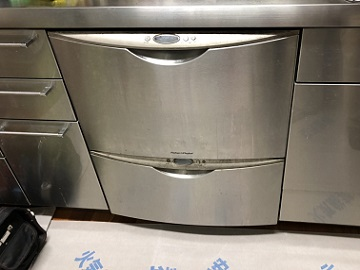 食洗機,買い換え,交換,取り替え,リフォーム,ビルトイン,食洗機交換工事,取り付け,シルバー,パナソニック製,60cm幅食洗機,ハーマン製二段食洗機,パナソニック製,FB6010TD