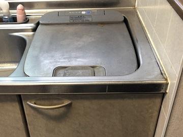 食洗機,トップオープン,取り付け,上開き,買い換え,交換,取り替え,リフォーム,ビルトイン,食洗機交換工事,取り付け,パナソニック製,NP-45MS8SAA,サンウェーブ