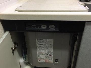 食洗機,トップオープン,取り付け,上開き,買い換え,交換,取り替え,リフォーム,ビルトイン,食洗機交換工事,取り付け,パナソニック製,NP-45RS7S,ヤマハキッチン