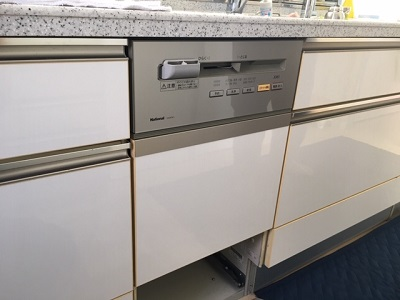 S43EW1,食器洗い乾燥機,食器洗い機,食洗機,買い換え,交換,取り替え,リフォーム,ビルトイン,食洗機交換工事,取り付け,シルバー,パナソニック