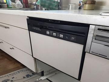 食器洗い乾燥機,食器洗い機,食洗機,買い換え,交換,取り替え,リフォーム,ビルトイン,食洗機交換工事,取り付け,シルバー,パナソニック,NP-45MS8S