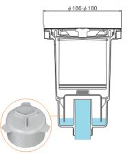 ワントラップ キッチン排水 構造