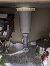 深型キッチン排水トラップ