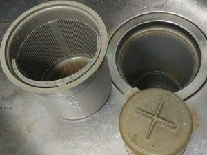 キッチン排水トラップ ヌメヌメ