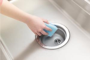 キッチン楽々排水トラップ 掃除お手入れ 簡単