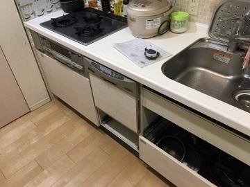 リンナイ,スライドオープン食洗機,RKW-V45A-SV,ZWPP45R14LDS-E,クリナップ
