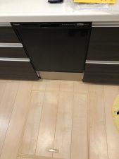ファーストプラス,システムキッチン,ビルトイン,QSE45RD7KD,ブラック,深型
