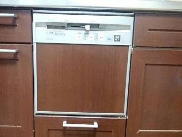 食洗機,入れ替え,スライドオープン食洗機,NP-P45F1S1TM,Panasonic,入れ替え,NP-45MS8S