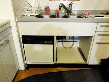 スライドオープン食洗機,入れ替え,NP-P45X1P1AA,ナショナル,クリナップ,ZWPP45R14LDS-E