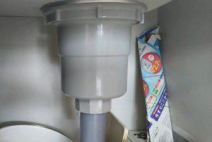 キッチン排水水漏れ