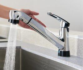 三栄水栓 アクアタッチ水栓