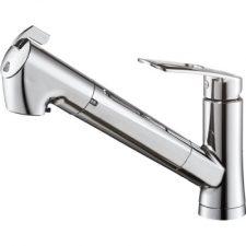 三栄水栓製(SANEI)K87128EJV-13 シングル浄水器付ワンホールスプレー混合栓 ▼浄水器