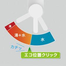 三栄水栓 +ecoレバー ラクナーレ