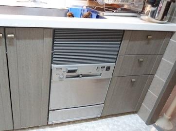 食器洗い乾燥機,食器洗い機,食洗機,買い換え,交換,取り替え,リフォーム,ビルトイン,食洗機交換工事,取り付け,シルバー,リンナイ,RSW-C402C-SV