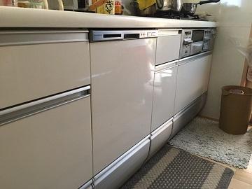 食器洗い乾燥機,食器洗い機,食洗機,買い換え,交換,取り替え,リフォーム,ビルトイン,食洗機交換工事,取り付け,シルバー,パナソニック,NP-45MS8W