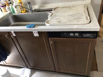 食洗機,トップオープン,取り付け,上開き,買い換え,交換,取り替え,リフォーム,ビルトイン,食洗機交換工事,取り付け,EW-CB54YH,NP-45MS8S