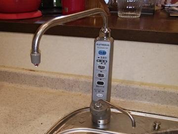 浄水器専用水栓,交換,取替え,QSTK-HB41-SSK,PJ-UA35D-SW,アルカリイオン整水器