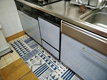 食器洗い乾燥機,食器洗い機,食洗機,買い換え,交換,取り替え,リフォーム,ビルトイン,食洗機交換工事,取り付け,シルバー,リンナイ,RSW-F402C-SV