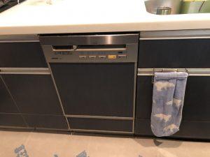 ナショナルS46EW2 スライド食洗機 取替え交換工事